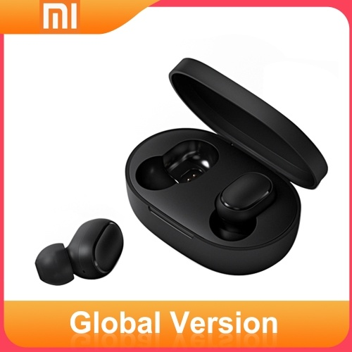 Redmi AirDots TWS Bluetooth 5.0 Kopfhörer Wireless-Earphone Headset Global Black