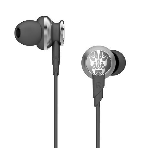 UiiSii Hi805 Наушники-вкладыши Bass HiFi DJ Стерео Наушники Спортивная гарнитура 3,5 мм Проводная с микрофоном для iPhone Xiaomi PC Android
