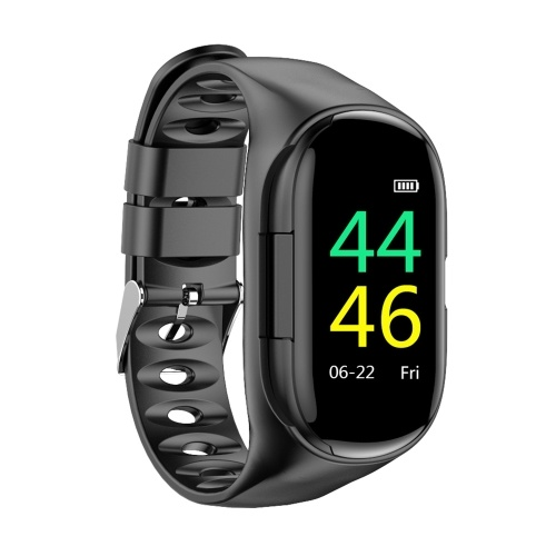 2-in-1-Smartwatch mit TWS Earbuds Fitness Tracker