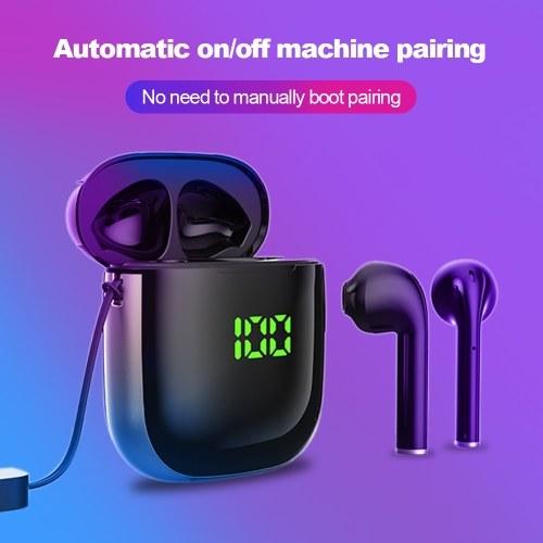 TWS Earphone BT 5.0 Touching Headset Sports Digital Display Headphone
