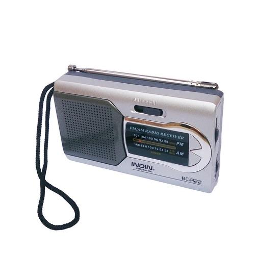 INDIN BC-R22 Mini receptor de radio
