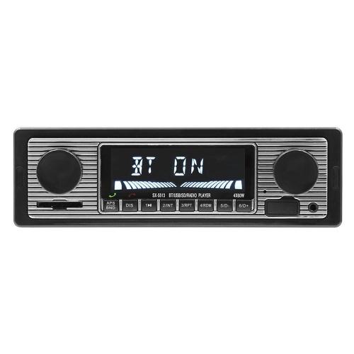 Carro Stereo MP3 Player Rádio FM Alto-falante Bluetooth