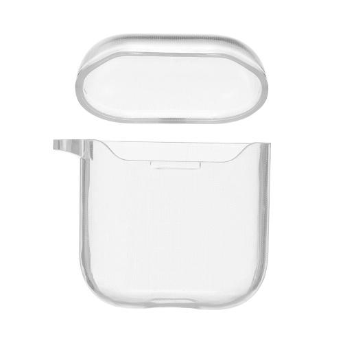Защитная крышка наушников для Apple AirPods Зарядная коробка Мягкий чехол ТПУ Clear для наушников Apple Аксессуары