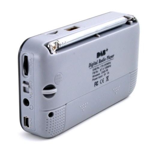 Car DAB Digital Radio Portable Stereo Speaker Mini Wireless BT MP3 Player FM Radio