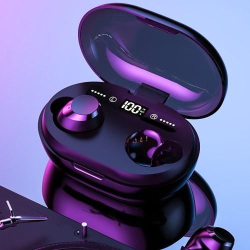 C8S TWS 5.0 BT Наушники 3D Беспроводные стерео наушники Водонепроницаемые наушники с шумоподавлением