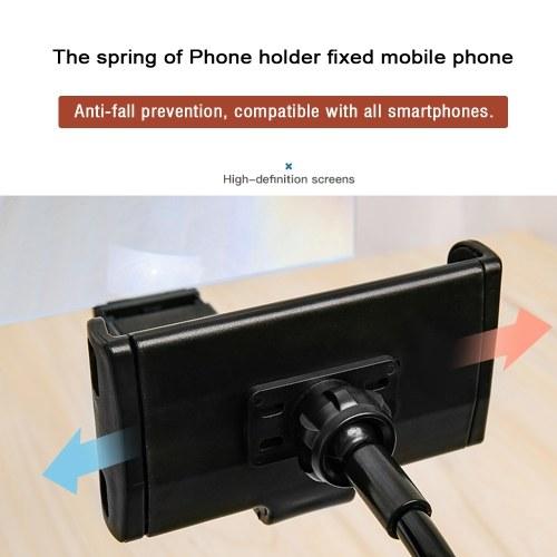 8/12-Zoll-Bildschirmverstärker Handy-Bildschirm Vergrößerungs Universal Lazy Phone Holder Schreibtischständer 360 Rotating Flexible Long Arm