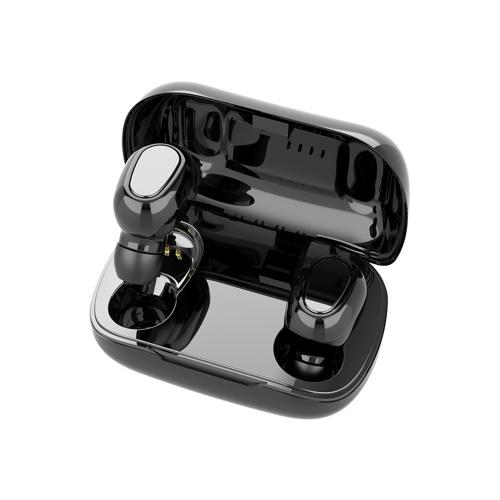 L21 TWS Écouteurs sans fil Bluetooth 5.0 Mini écouteurs stéréo Casque de sport avec microphone Casque antibruit