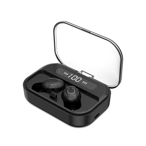 T11 TWS Наушники Bluetooth 5.0 True Беспроводные Наушники Водонепроницаемые Спортивные Гарнитуры Музыка Наушники С Микрофоном СВЕТОДИОДНЫЙ Дисплей Выход USB Power Bank