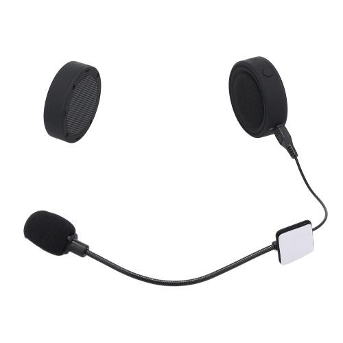 Motorradfahrer BT Kopfhörer Moto Helm Headset Drahtlose Freisprecheinrichtung Kopfhörer Motorrad Helm Kopfhörer für Handys / MP3 / Lautsprecher