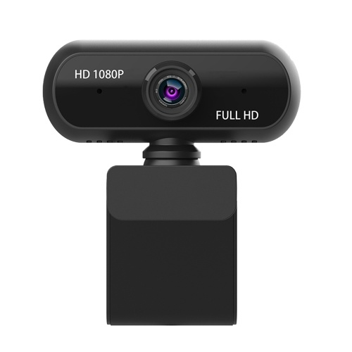 Full HD 1080P Wide Angle USB Webcam USB2.0 Drive-Free With Mic Web Cam Laptop Online Teching Conference  Live Streaming Video Calling Web Cameras Anti Peeping Webcame