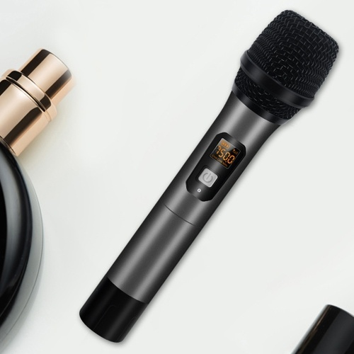 Hand-held UHF Wireless Microphone 6.35mm Receiver Anti-interference Wireless MIC Outdoor Performance Microphone Conference Karaoke Microphone
