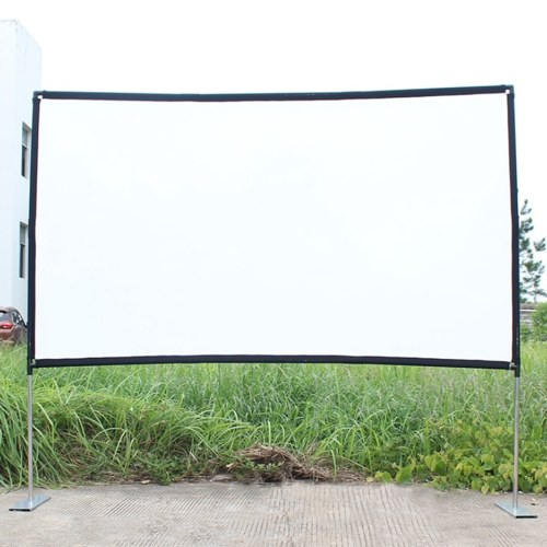 16:9 Projector Screen Home Theater Portable Outdoor Movie (100 inch)