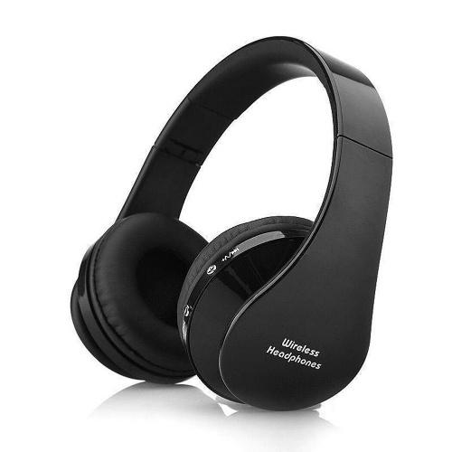Fones de ouvido BT dobráveis estéreo BT 3.0 baixo fones de ouvido 3,5 mm com fio fones de ouvido multifuncionais mãos-livres
