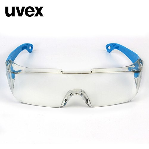 UVEX Safety Goggles Eye Protective Safety Goggles Glasses Clear Anti-impact Anti-dust Factory Lab Outdoor Work 9065185