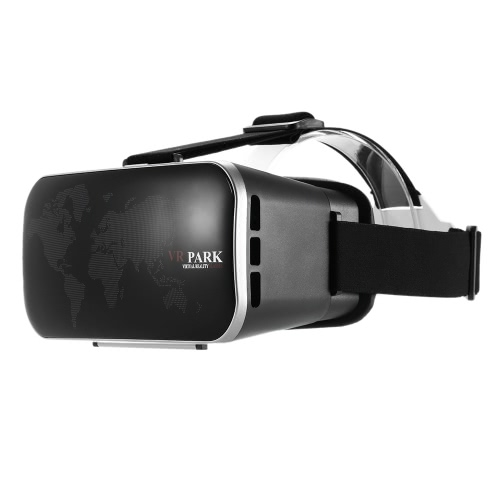VR Virtual Reality Glasses Headset 3D Glasses 3D Movie Game Glasses Head-Mounted Headband for All 4-6 inches Smart Phones