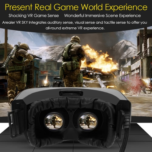 VIULUX V1 VR Headset Virtual Reality Glasses Display OLED Display Screen Head-Mounted