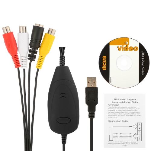 ezcap172 أوسب التقاط الفيديو هد تحويل الفيديو التناظرية الصوت والفيديو إلى تنسيق رقمي