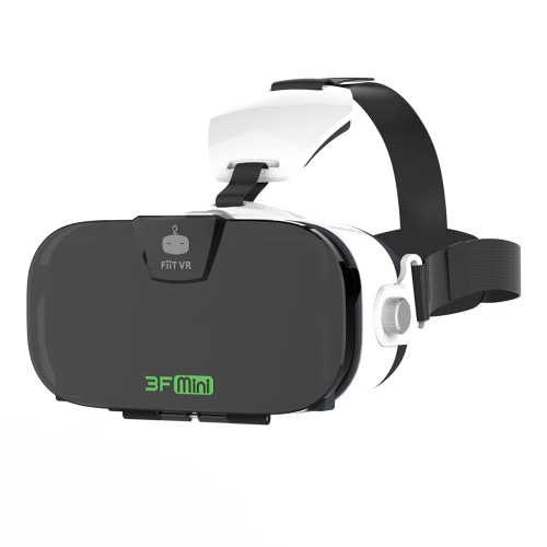 FiiT VR Virtual Reality Glasses 3D VR Box Glasses Headset Immersive Private 3D Cinema for 4.0-6.3 Inches Android iOS Smart Phones