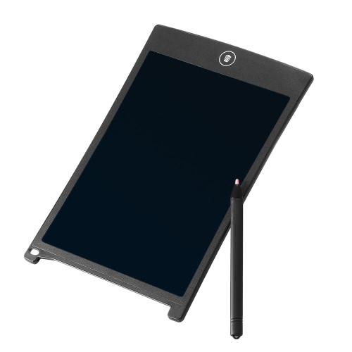 Tablette d'écriture à cristaux liquides de 8.5 pouces avec stylet en plastique