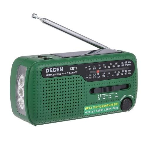 DEGEN DE13 FM-радио