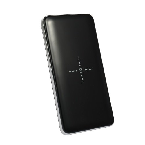 Caricabatteria veloce portatile senza fili 10000mAh da viaggio Doppia batteria esterna USB