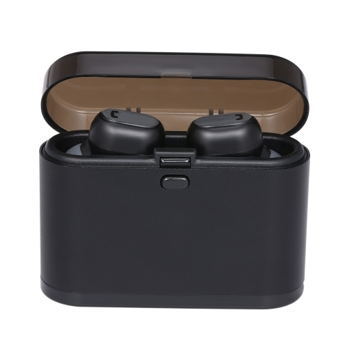 TWS Erabuds Wireless Bluetooth 5.0-Kopfhörer mit Mikrofon-Ladekoffer True Wireless-Stereo-Headsets unterstützen die Arbeit mit einem einzigen Headset