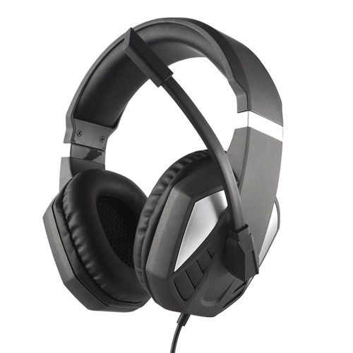 3.5mm Wired Gaming Headphones Over Ear Game Headset Noise Canceling Earphone with Microphone Volume Control for PC Laptop PS4