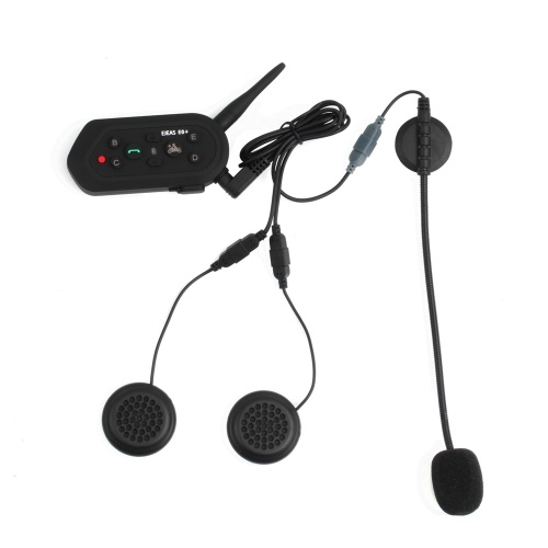 1200M EJEAS E6 Plus Bluetooth-гарнитура для мотоцикла фото