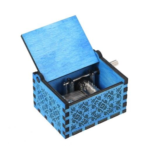 Carillon in legno Mini carillon musicale inciso a mano inciso a mano Compleanno Regalo di San Valentino squisito