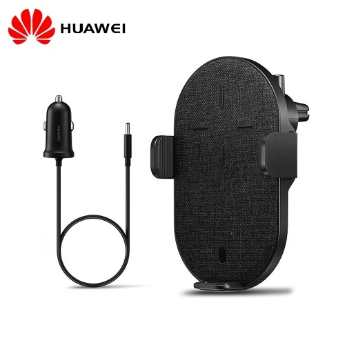 HUAWEI Wireless SuperCharge 27W Беспроводное автомобильное зарядное устройство для телефона Держатель