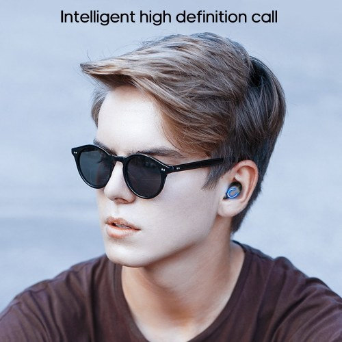 Earphone F9 Ture Wirelessly Stereo BT5.0 Headphone CVC8.0 Noise Cancelling Earbuds High Definition Stereo Headset