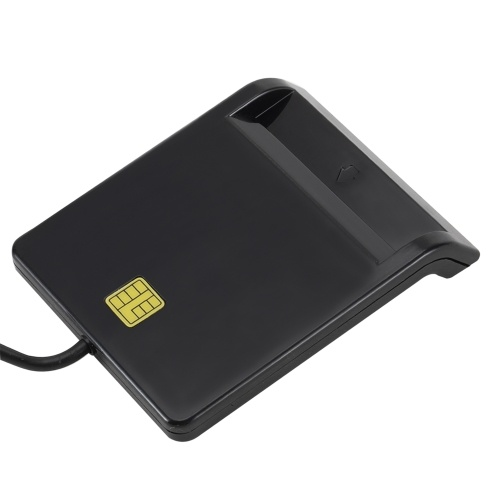 Lettore di smart card USB 2.0 Lettore di smart card IC per lettore di carte di credito IC / ID EMV USB-CCID ISO7816 per Windows 7 8 10 Sistema operativo Linux