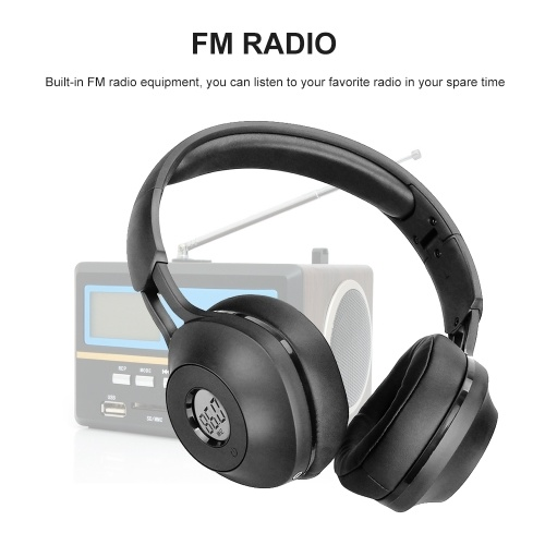 Retekess TR104 FM Headphone Radio Receiver Headset