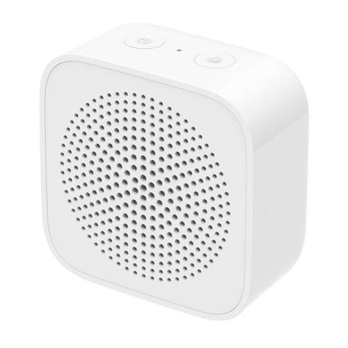 Xiaomi Xiaoai Som estéreo portátil sem fio BT5.0 Speaker com microfone Chamada com viva-voz (quadrado)