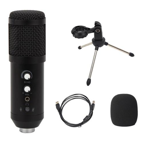 USB-микрофон Модернизированная версия конденсаторного микрофона с функциями реверберации / монитора / отключения звука