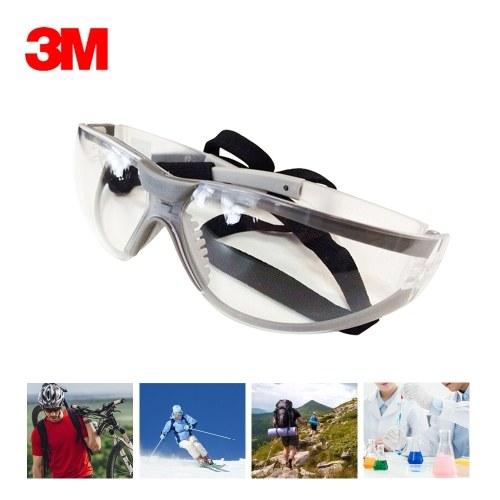 3M 11394 Schutzbrille Anti-Fog Antisand Winddicht Staubdicht Transparente Brillen Arbeitsschutzbrillen