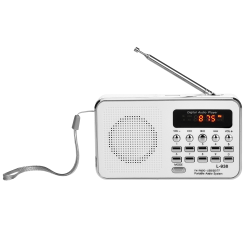 L-938 Mini Portable Digital FM ...