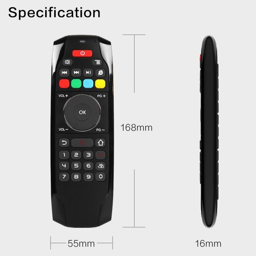 2.4G Air Mouse Wireless Keyboard Remote Control