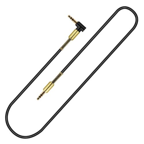 3,3-дюймовый кабель AUX 3,5 мм удлинительный кабель для аудио кабеля 90-градусный правый угол для мужчин для автомобильного стереодинамика