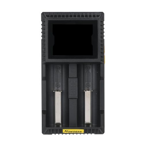 Entalhe inteligente universal do carregador de bateria de NOKOSER D2U esperto