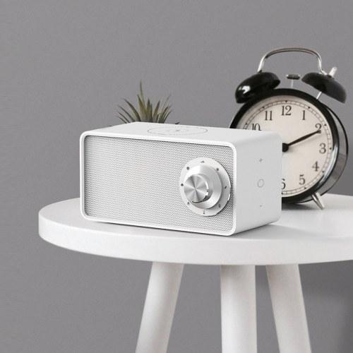 XIAOMI Qualitell White Noise Sound Machine Беспроводная зарядка Портативный Sleep Therepy Bt 5.0 Динамик Естественные успокаивающие звуки Touched Control Sleep Instrument USB