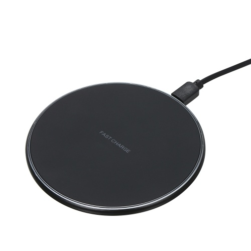 Qi Wireless Charger Rounded QC3.0 10W Fast Wireless Charging Pad