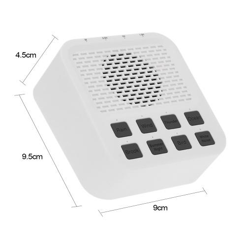 Спящий Помощник Беспроводная Связь Bluetooth 4.0 Динамик Звуковая Машина с 8 Естественным Белым Шумом 3.5 мм Порт наушников для Младенцев Студенты Храпов Офисные Работники Пожилые Люди