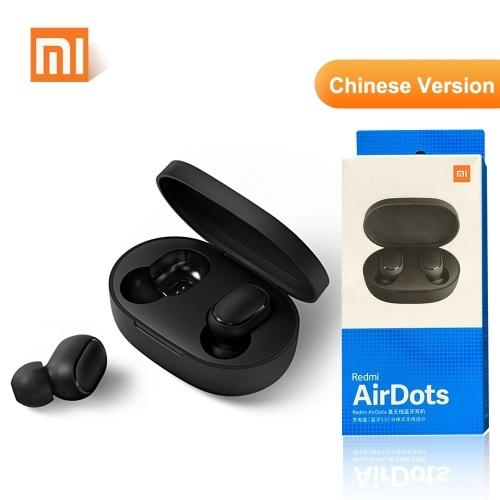 Redmi AirDots TWS Bluetooth 5.0 Headphone Wireless-Earphone Headset Black
