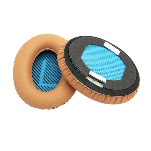 Almohadillas de repuesto Almohadillas para Bose QC2 QC15 AE2 AE2I QC25 Sobre oreja Auriculares Cojín de orejeras Material de proteína, 1 par