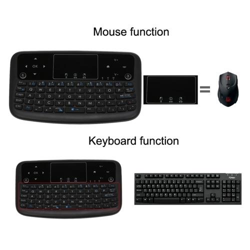 A36 Mini teclado inalámbrico 2.4GHz