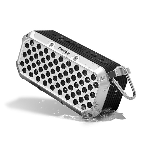 Smalody SL-15 Protable Bluetooth 5.0 Speaker IPX6 Waterproof Wireless Loudspeaker Sound Box Outdoor Travel Hook Speaker Built in USB TF Card Slot AUX IN for Party Camping Outdoor