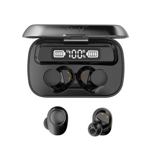 IPX7 Waterproof TWS Bluetooth 5.1 Earphones with Mic