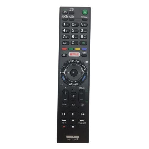 Controle remoto de substituição inteligente para Sony TV Controle remoto de TV de tamanho portátil fácil de pegar preto