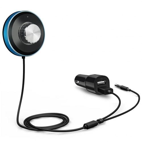 BT-3 receptor Bluetooth com Kit de carro carregador veicular com USB Dual Carregador música Bluetooth Adapter Aux 3,5 mm para sistemas do carro e sistema de áudio para casa